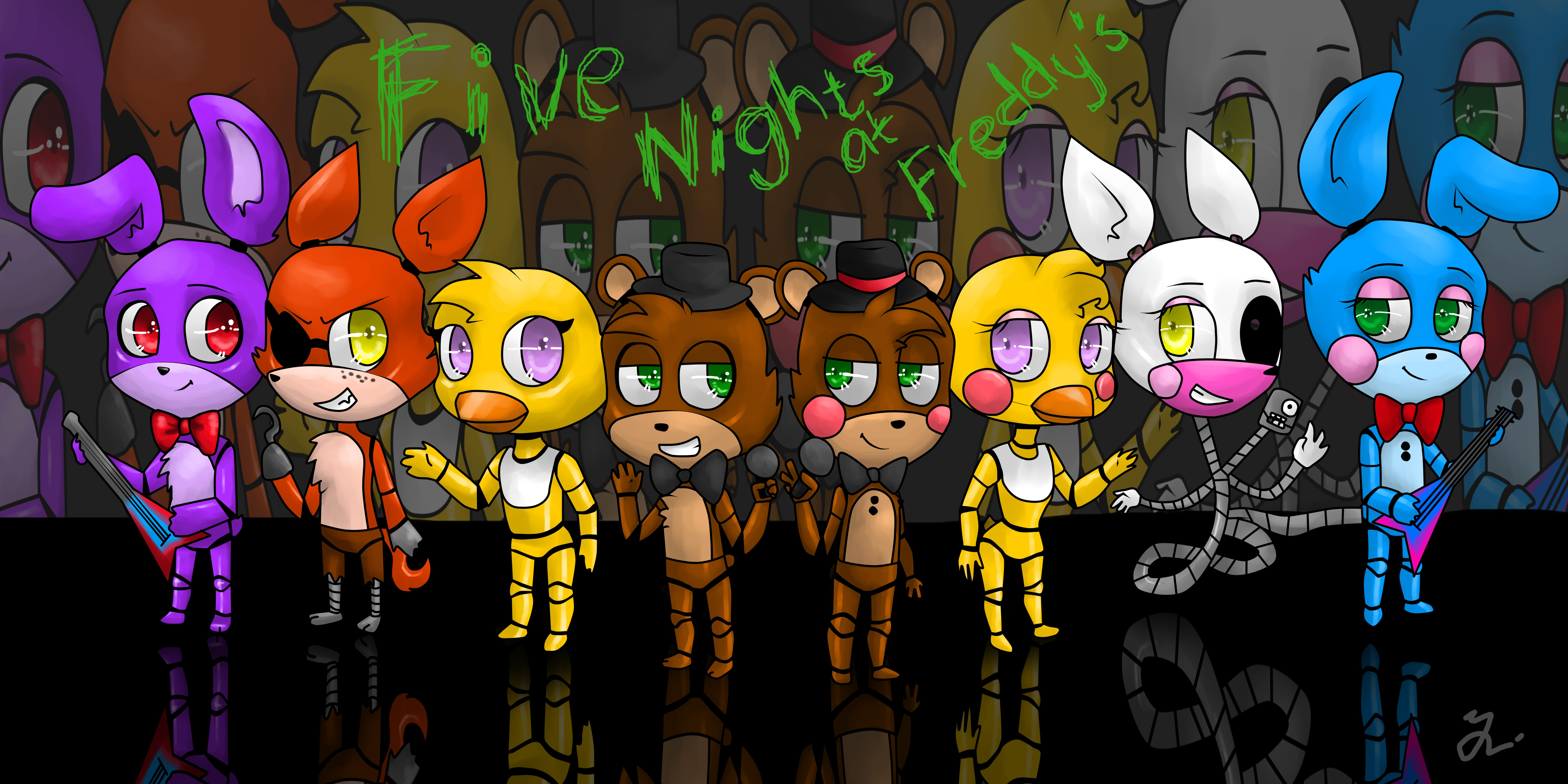 five nights at freddy's coloring pages - five night at freddys wallpaper