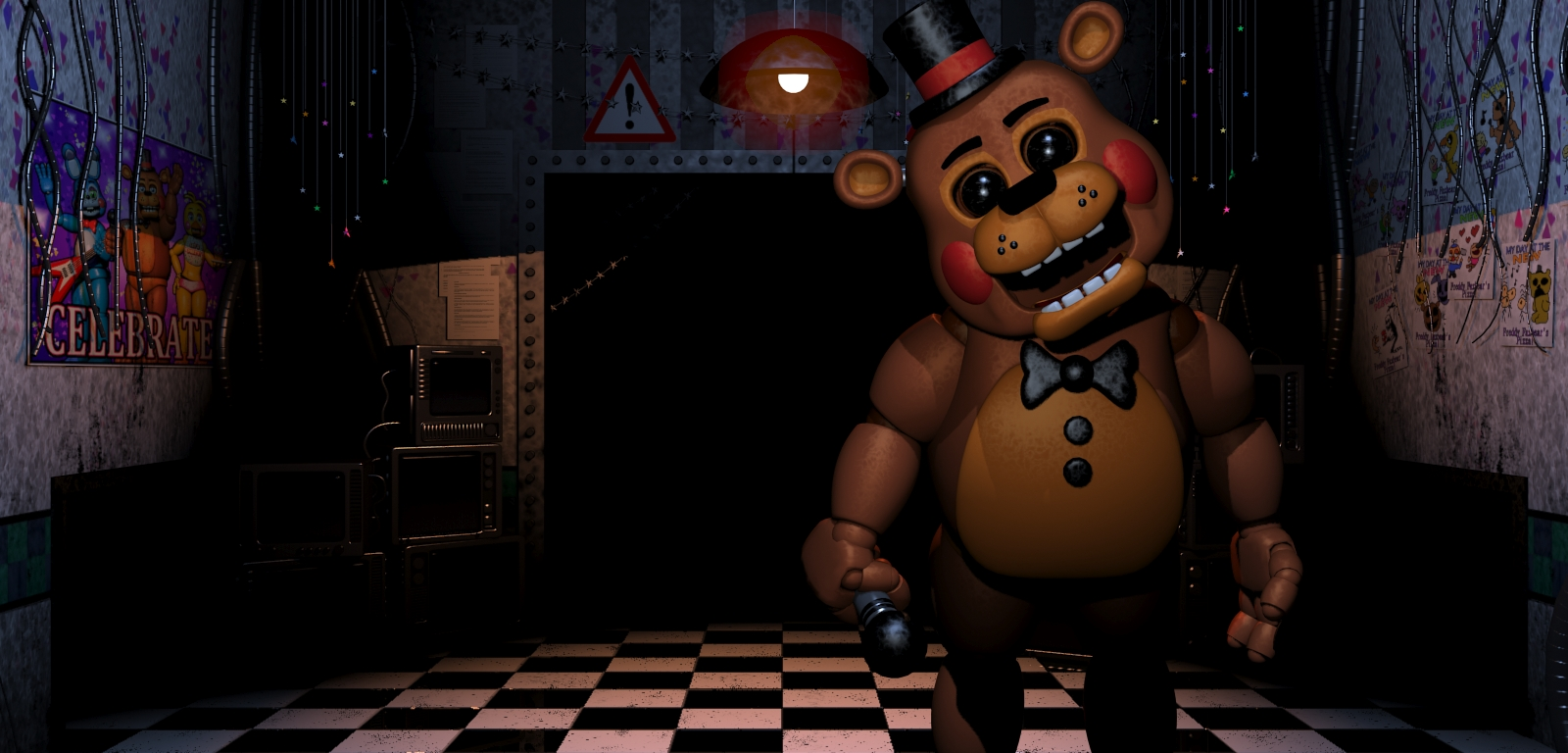 five nights at freddy's coloring pages - five nights freddys toy freddy