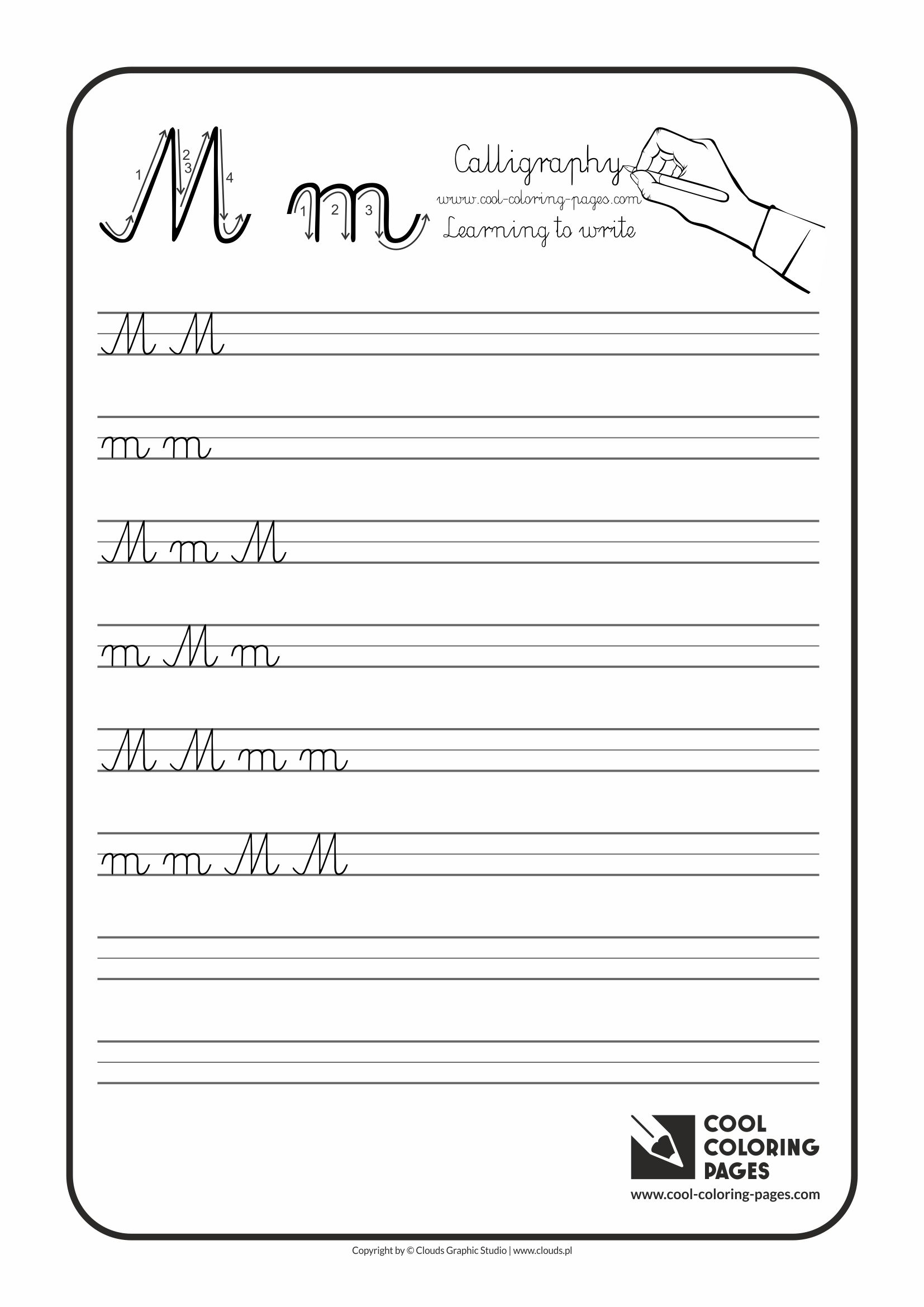 five senses coloring pages - calligraphy for kids letters handwriting