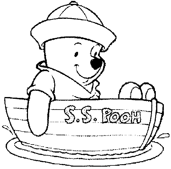 flag coloring pages - coloriage Winnie 1