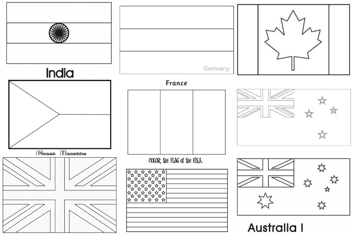 flags of the world coloring pages - free spanish speaking countries flags coloring pages new at spanish speaking countries flags coloring pages futpal