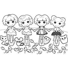 flame coloring page - lalaloopsy coloring pages your toddler will love