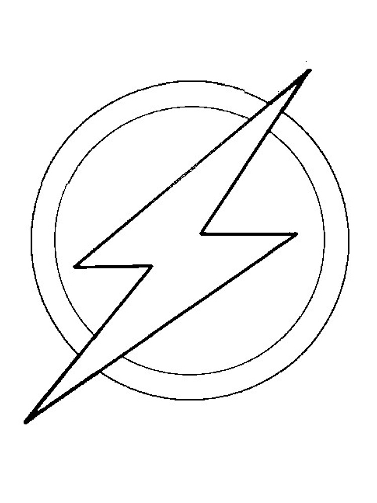 flash coloring pages - dc ics flash coloring pages
