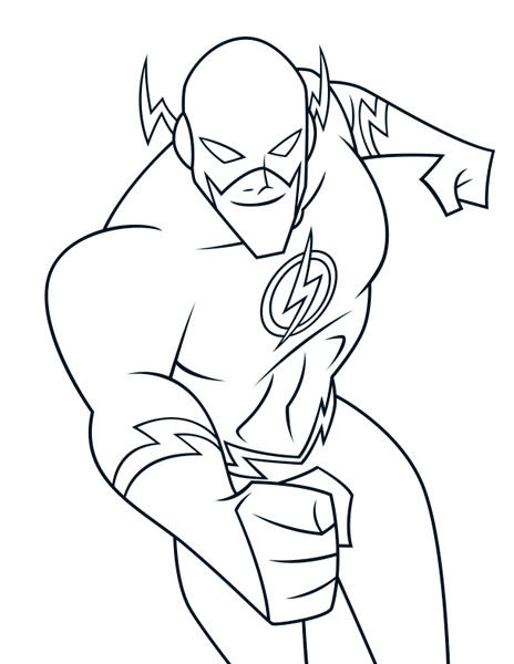 Flash Coloring Pages - Flash Coloring Pages Best Coloring Pages for Kids