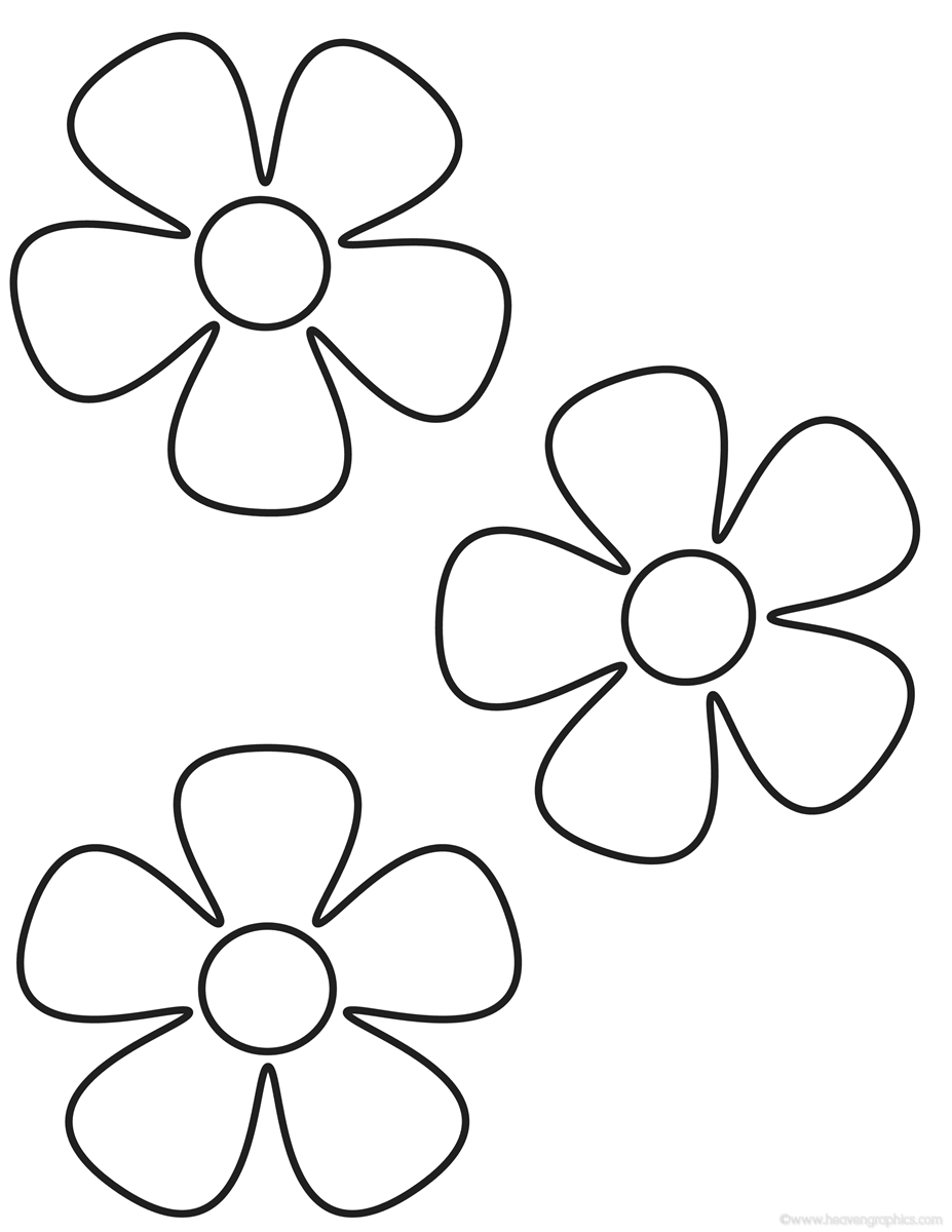 flower coloring pages - flowers coloring pages