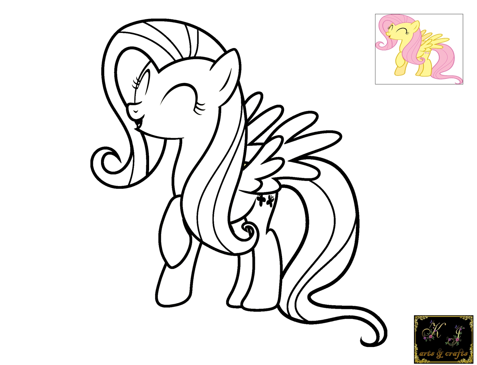 21 Fluttershy Coloring Pages Compilation | FREE COLORING PAGES - Part 2