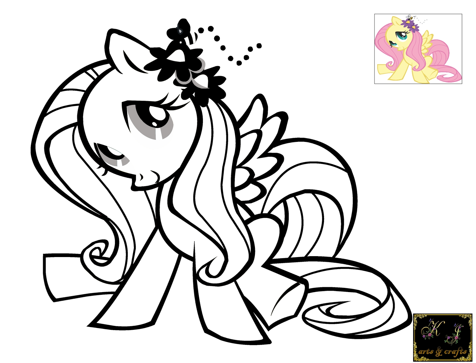 fluttershy coloring pages - fluttershy printable coloring pages