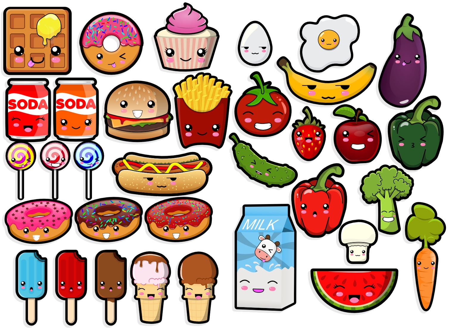 food coloring pages - LZYYk