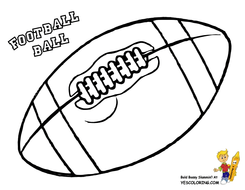 football coloring pages - football coloring