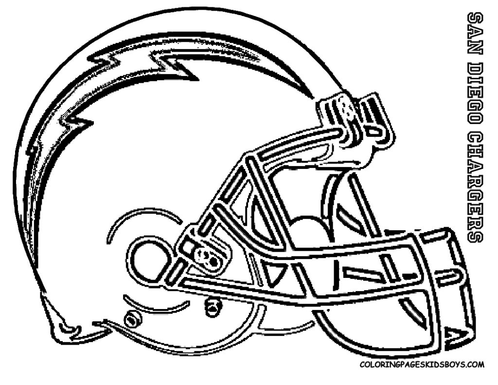 football coloring pages - san go chargers football coloring pages book colorine football coloring pages printable