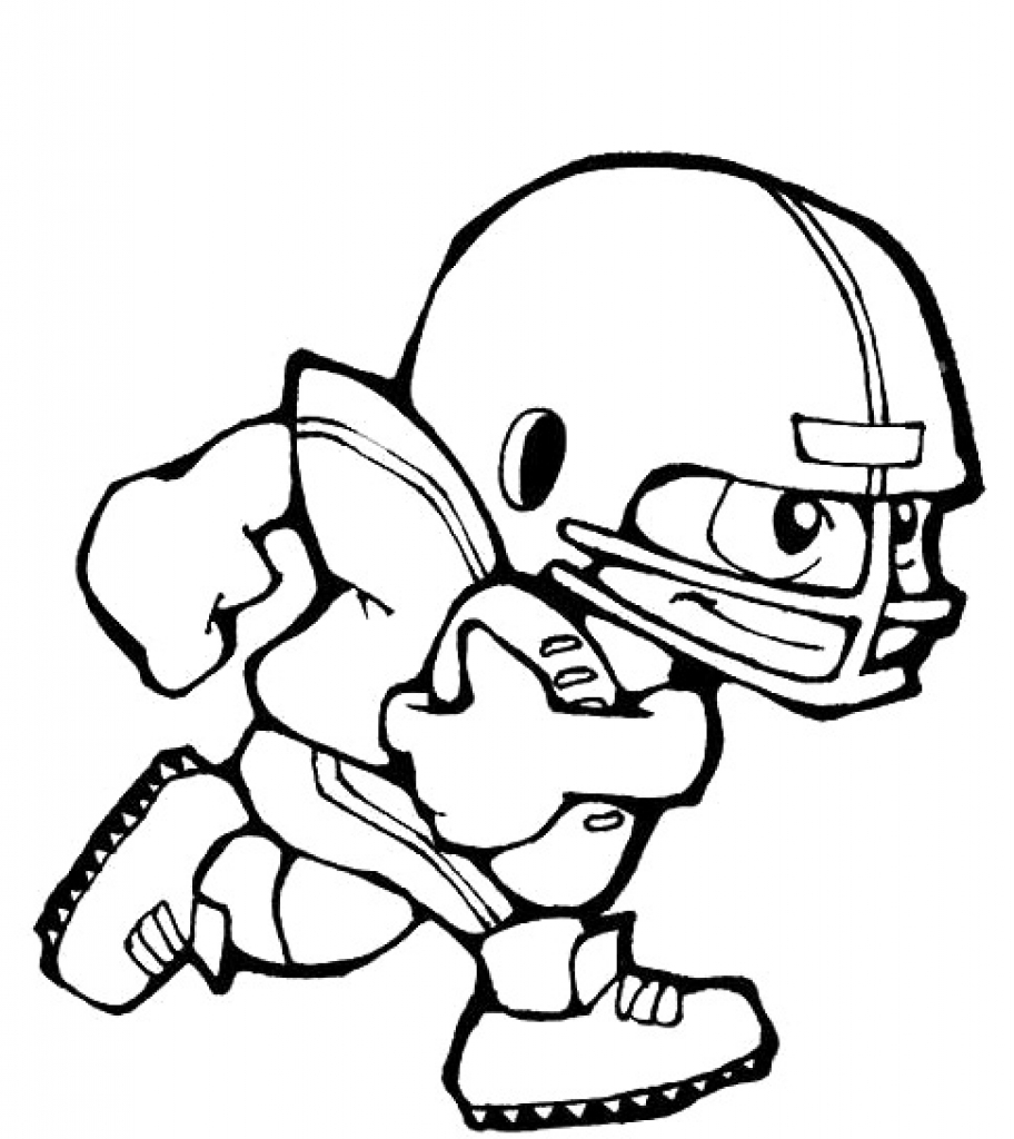 football coloring pages - football player coloring pages 35 football player coloring pages coloringstar sheets