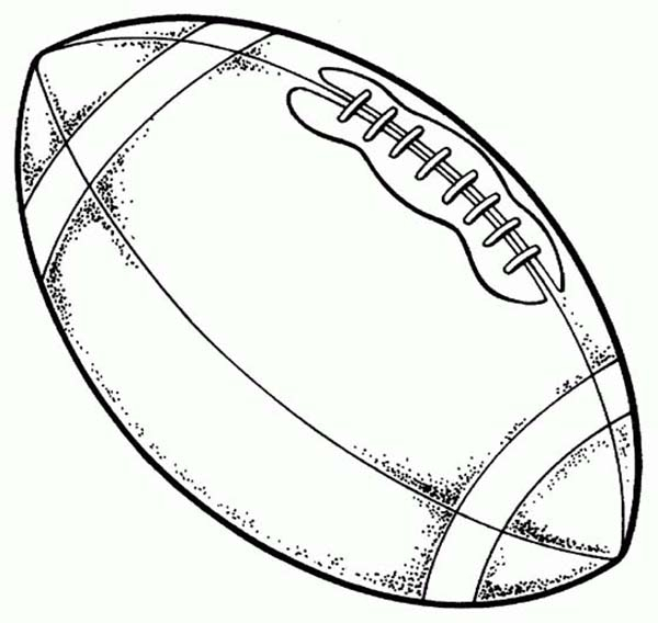 Football Coloring Pages - Football Coloring Pages Printable Free Coloring Page