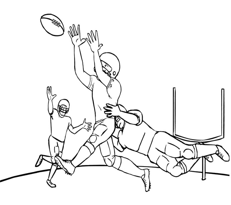football coloring pages - nfl football helmet coloring pages
