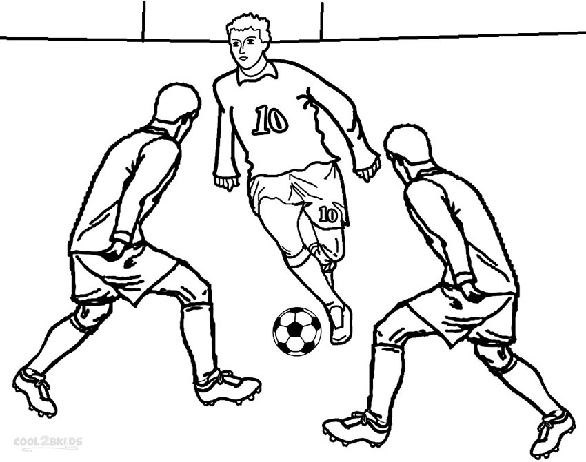 football coloring pages - football player coloring pages