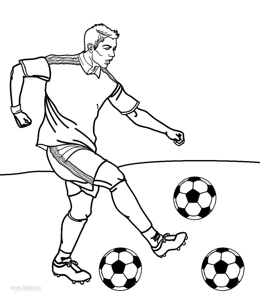 football coloring pages printable - coloring pages players football sketch templates