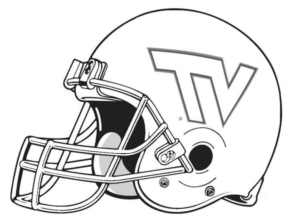 football helmet coloring page - college football helmets coloring pages