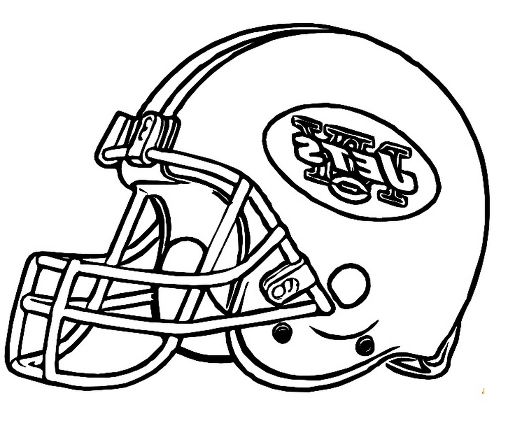 football helmet coloring page - football helmet coloring pages