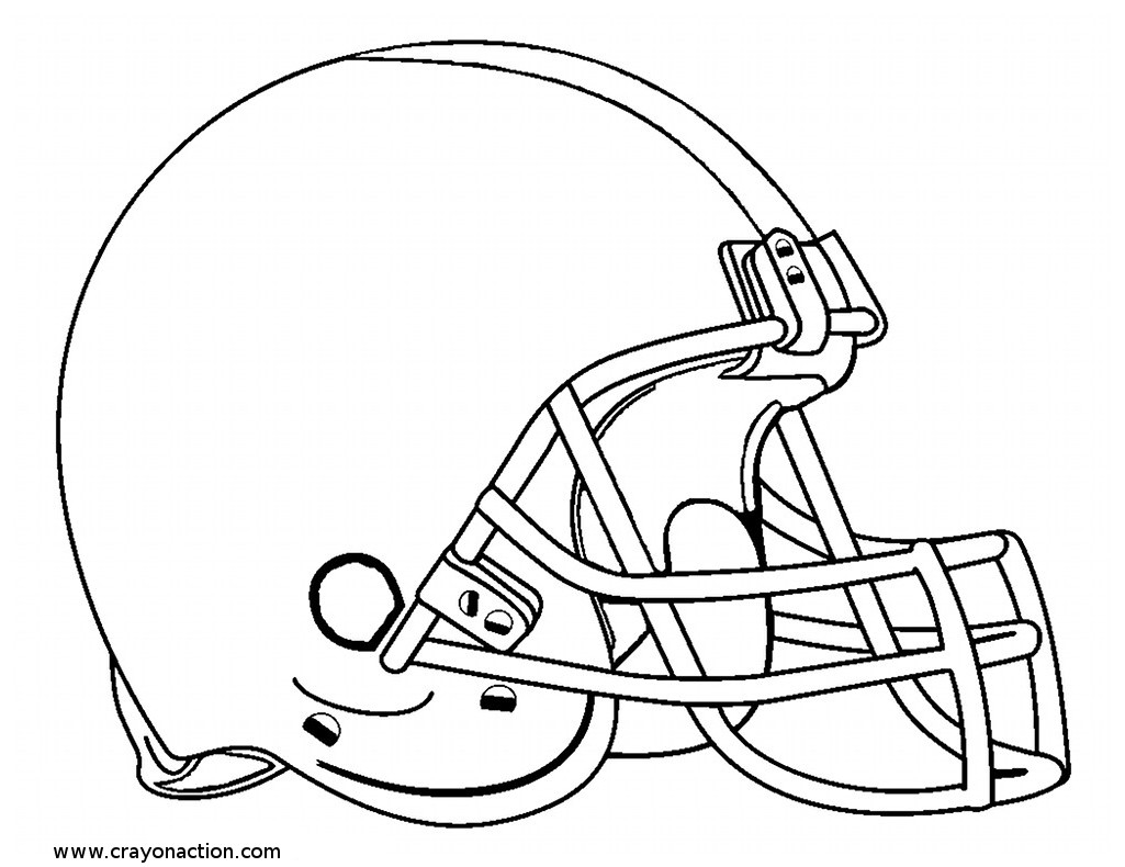 football helmet coloring page - r=football helmet