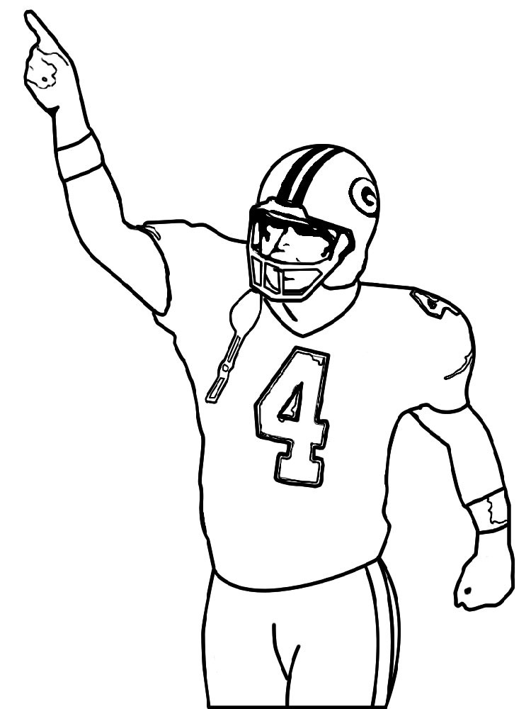 football player coloring pages - football player coloring pages
