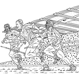football player coloring pages - cul kids corner
