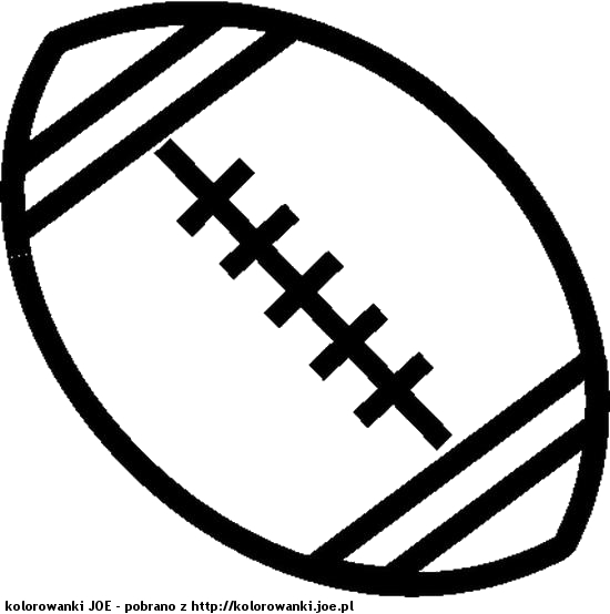 football player coloring pages - malowanki pilka do rugby sportowe