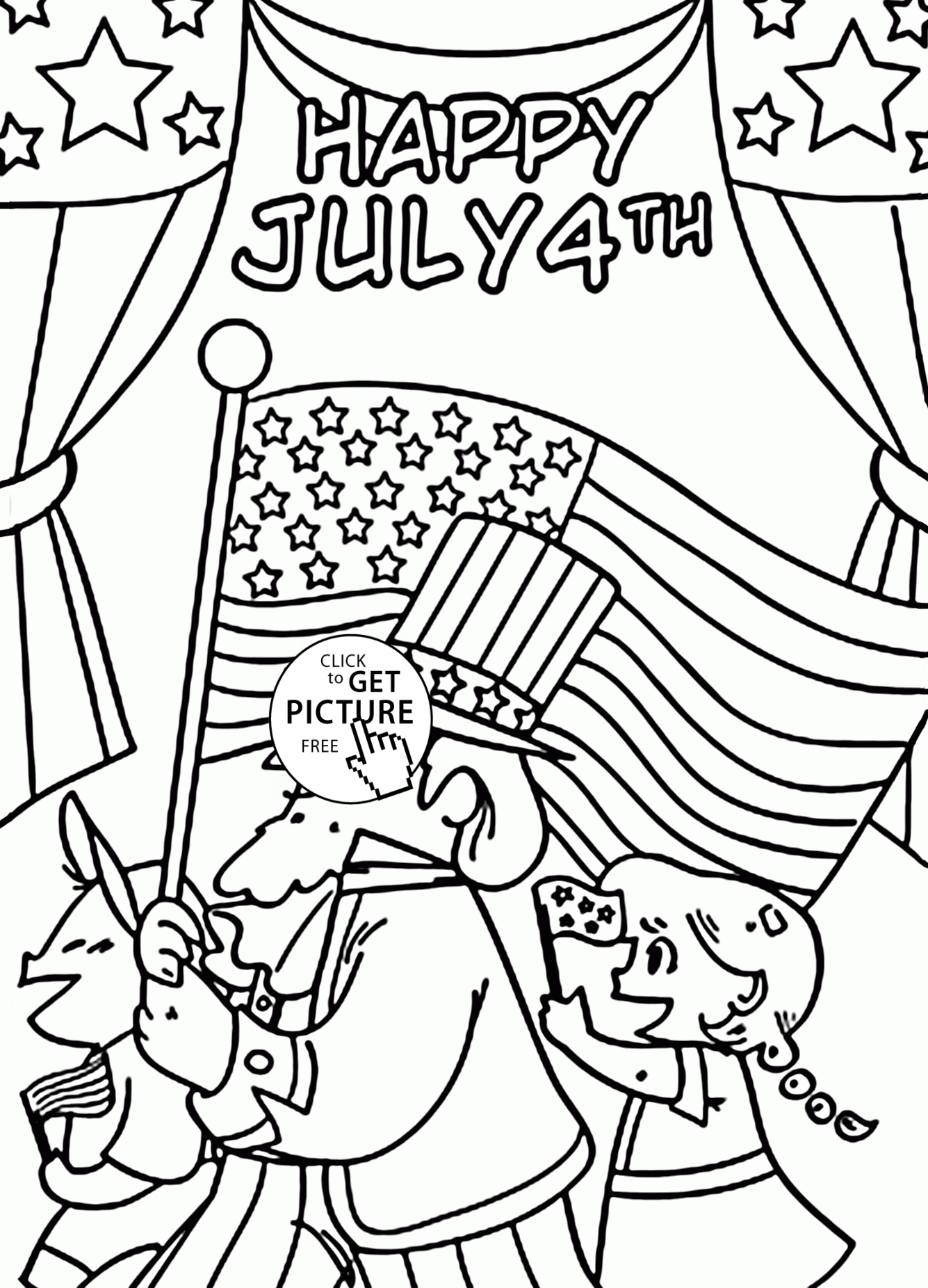 27 Fourth Of July Coloring Pages Images | FREE COLORING PAGES
