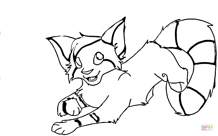 foxy coloring pages - foxy fox