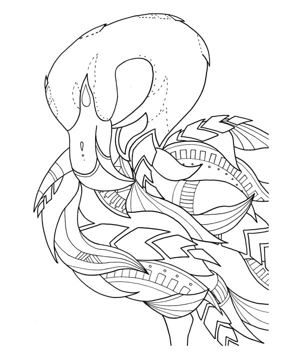 framed coloring pages -
