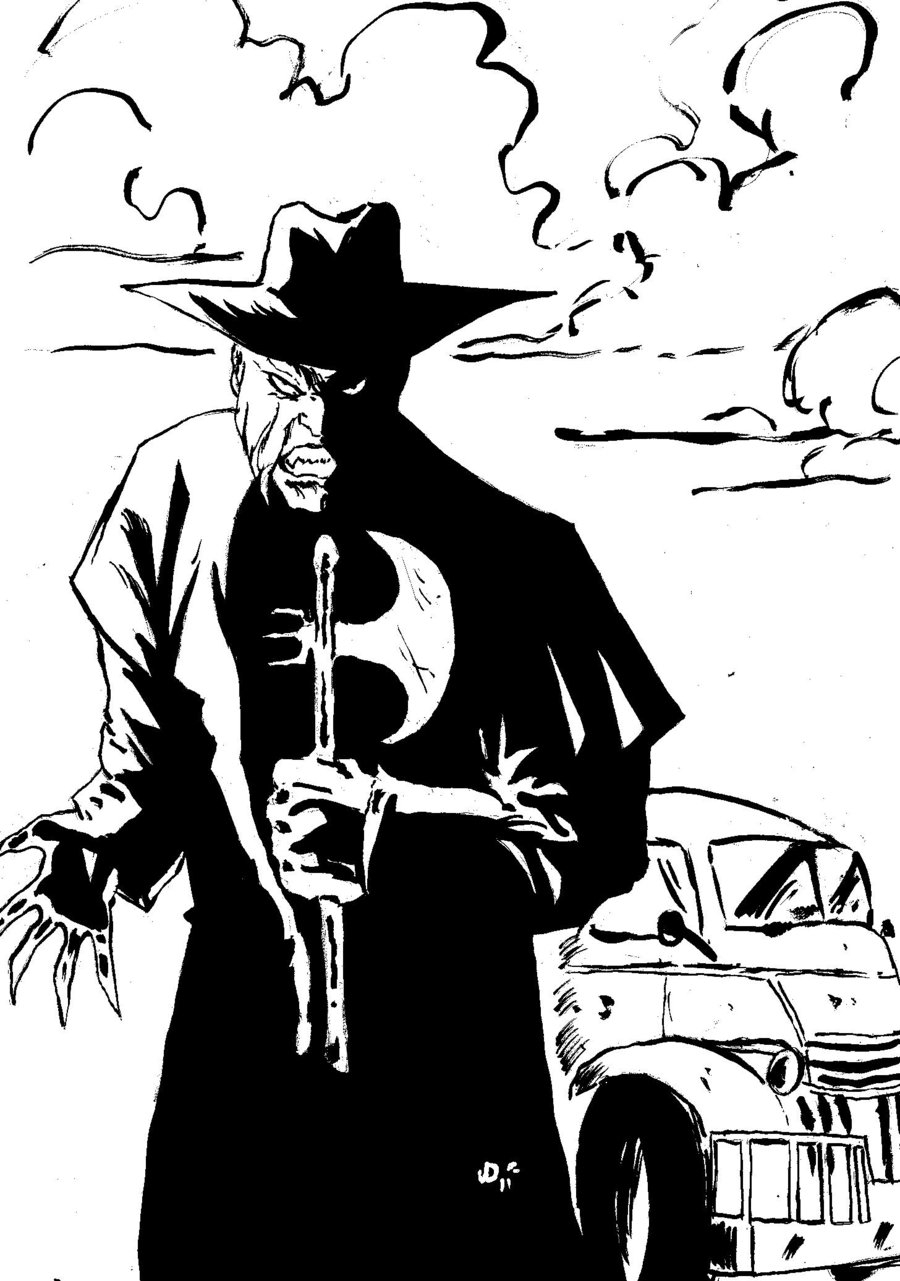 freddy krueger coloring pages - Jeepers Creepers