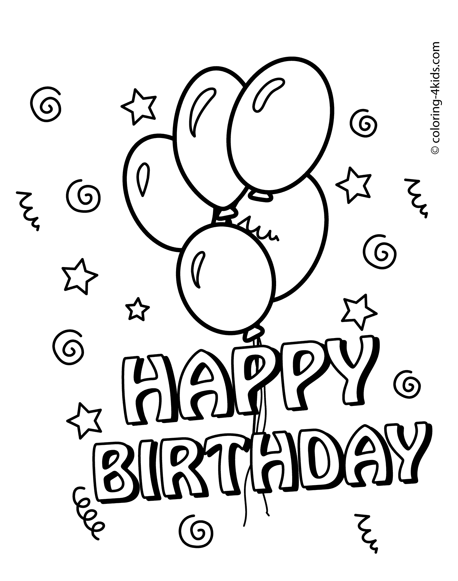 free birthday coloring pages - r=happy birthday minion