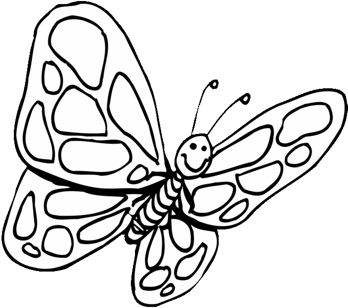 Free butterfly Coloring Pages - Coloring Pages butterfly Coloring Pages Pdf Free Coloring