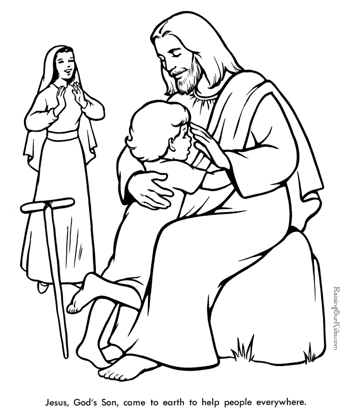 free christian coloring pages - christian coloring pages free