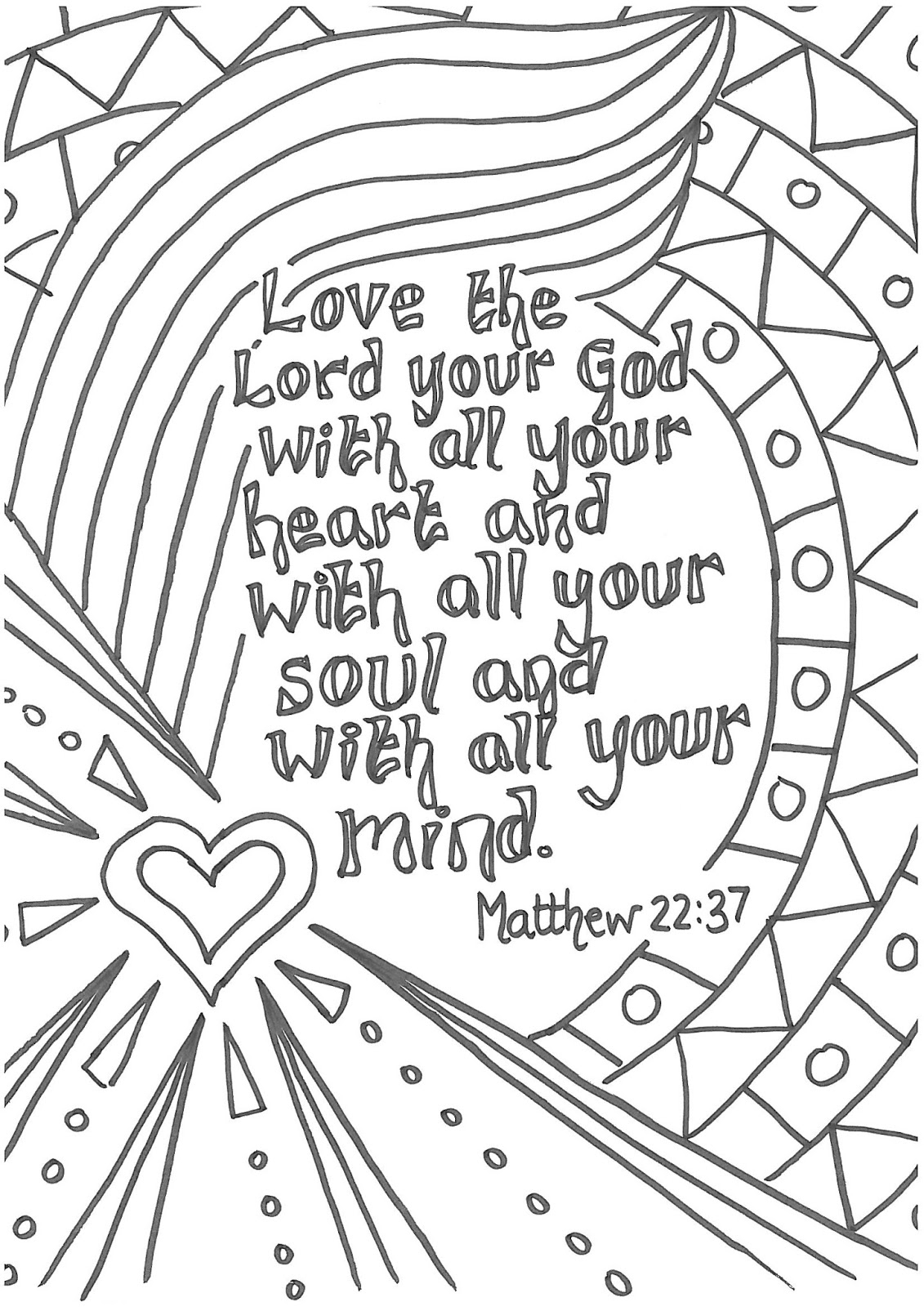 free christian coloring pages - blog page