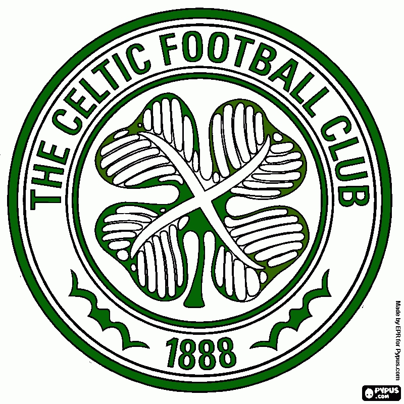free coloring book pages - coloring page celtic fc