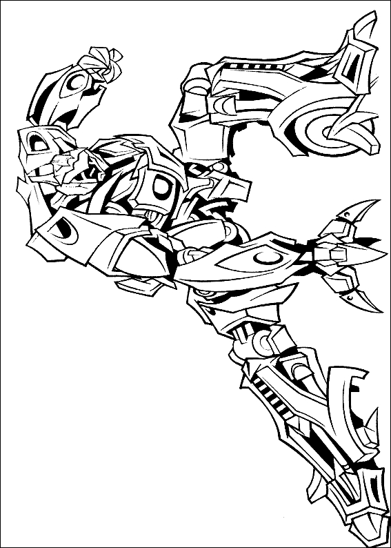 free coloring pages to print - transformers coloring pages