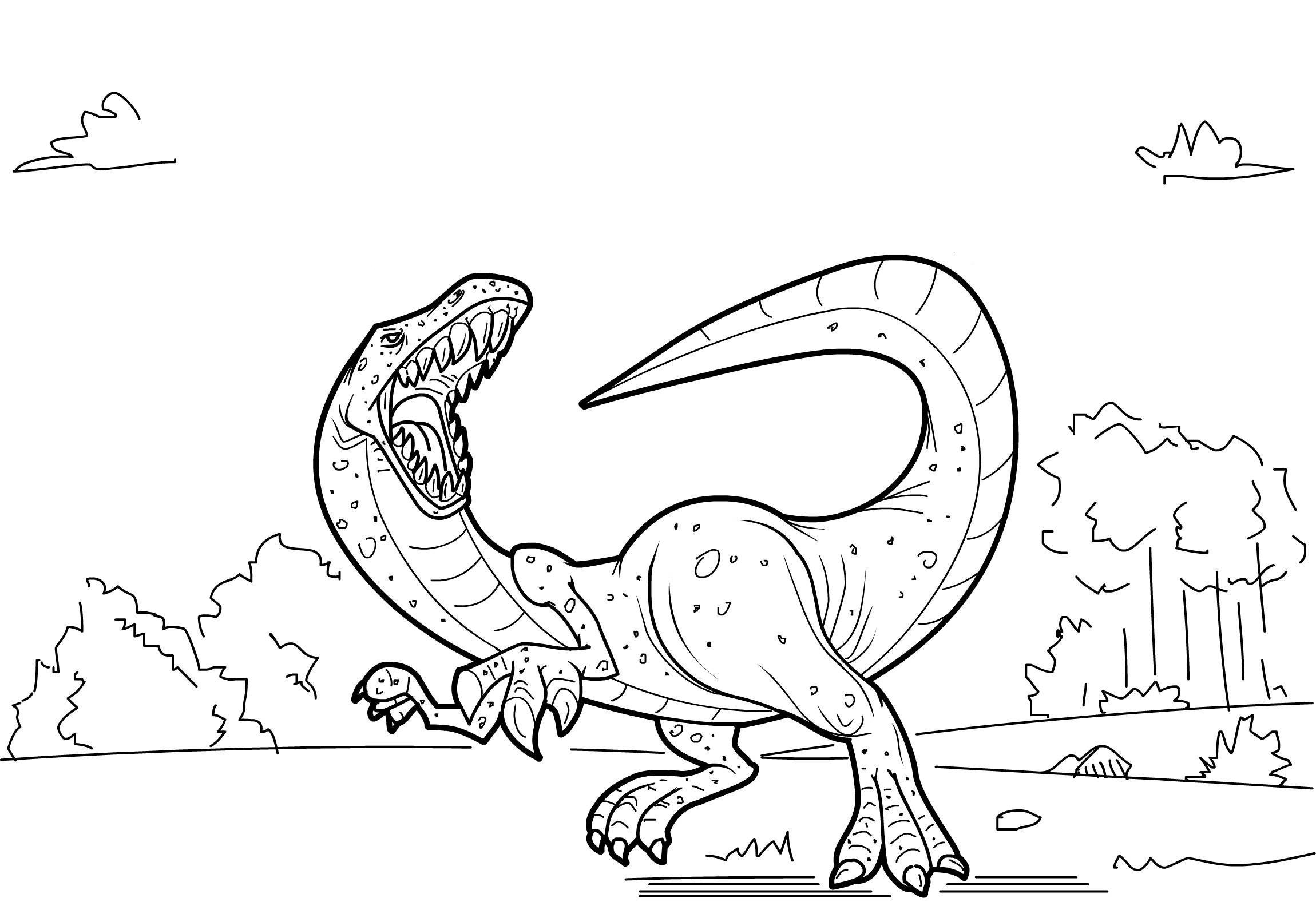 free dinosaur coloring pages - free printable dinosaur coloring pages