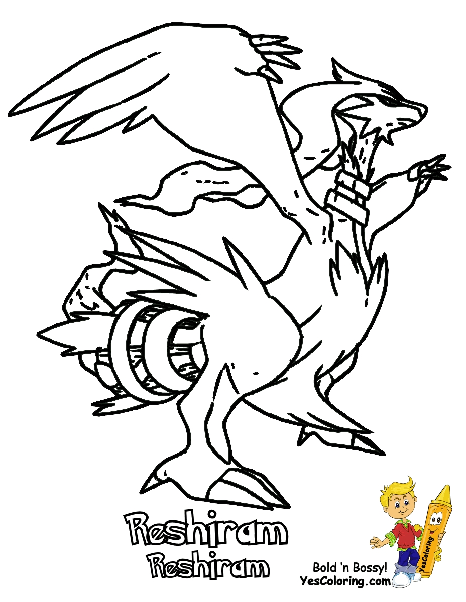 Modern Pokemon Black And White Coloring Pages To Print Frieze ...