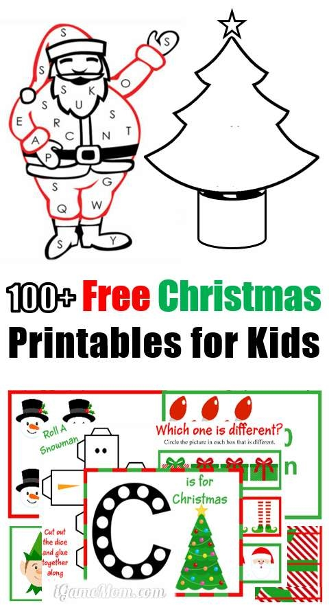 free dot marker coloring pages - 100 free christmas printables for kids moms library