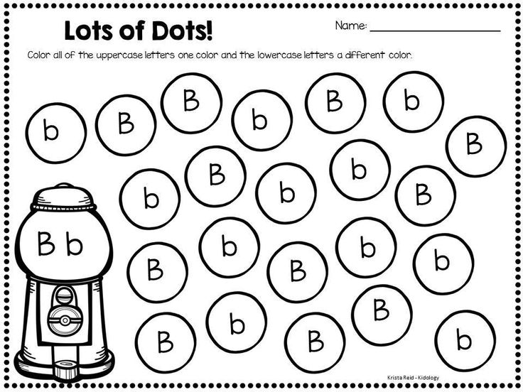 free dot marker coloring pages -