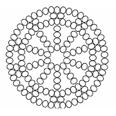 free dot marker coloring pages - pattern coloring pages toddler