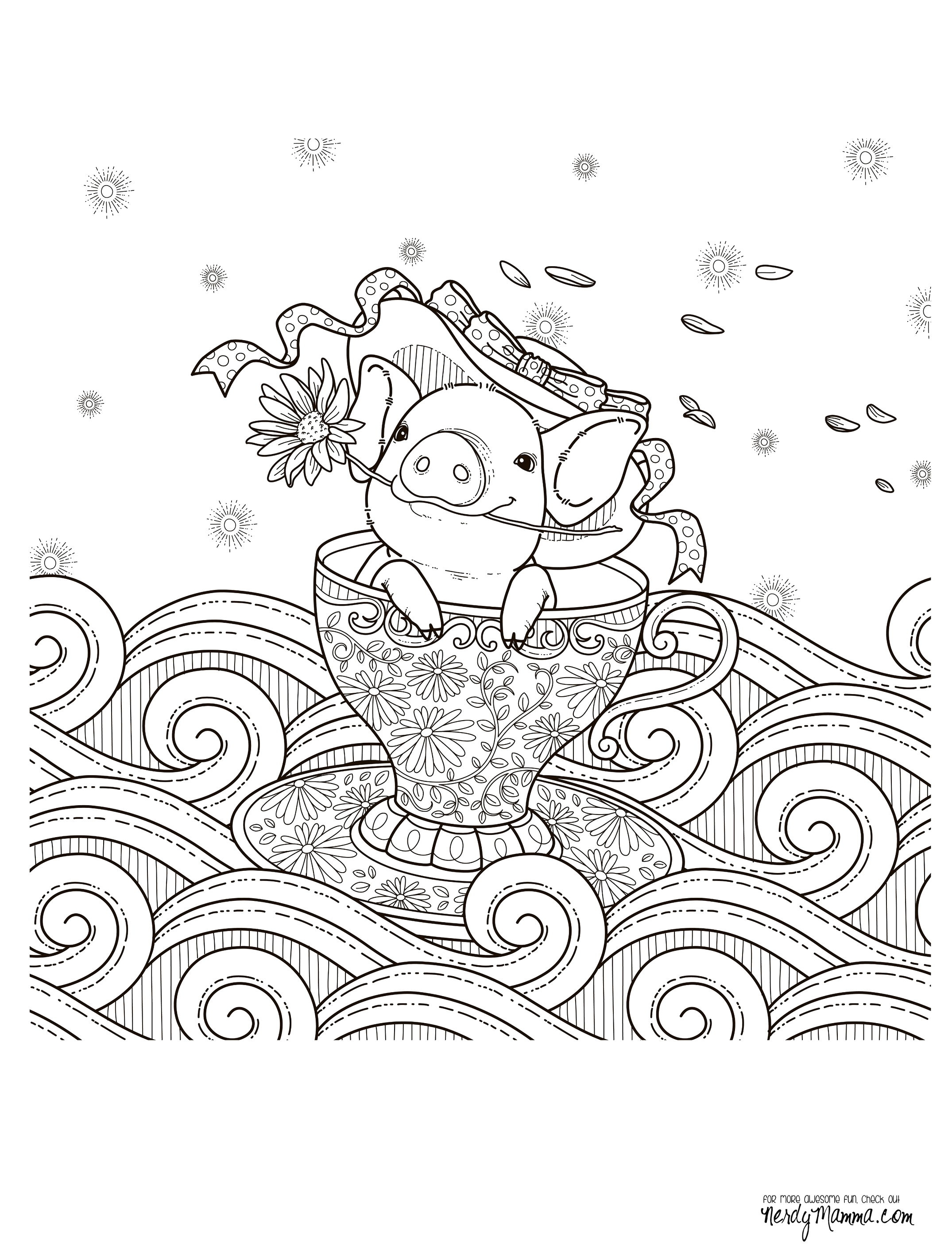 free downloadable adult coloring pages - 224