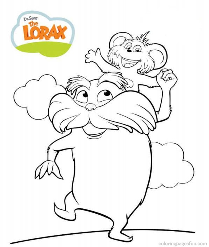 free dr seuss coloring pages - dr seuss characters coloring pages