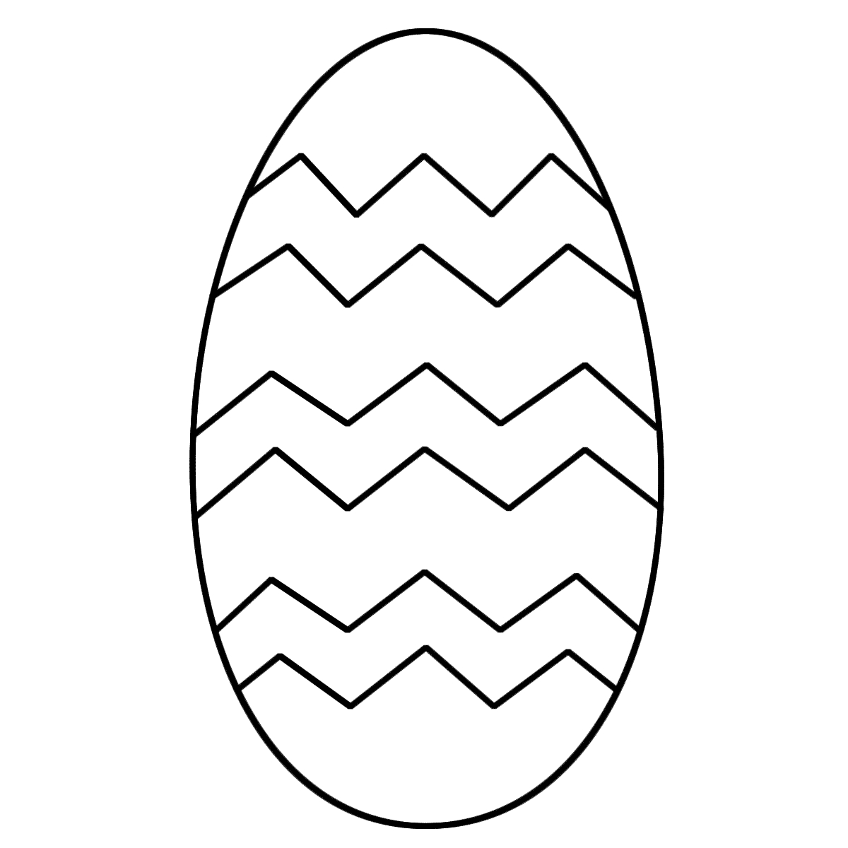 Free Easter Coloring Pages - Free Printable Easter Egg Coloring Pages Clipart Best