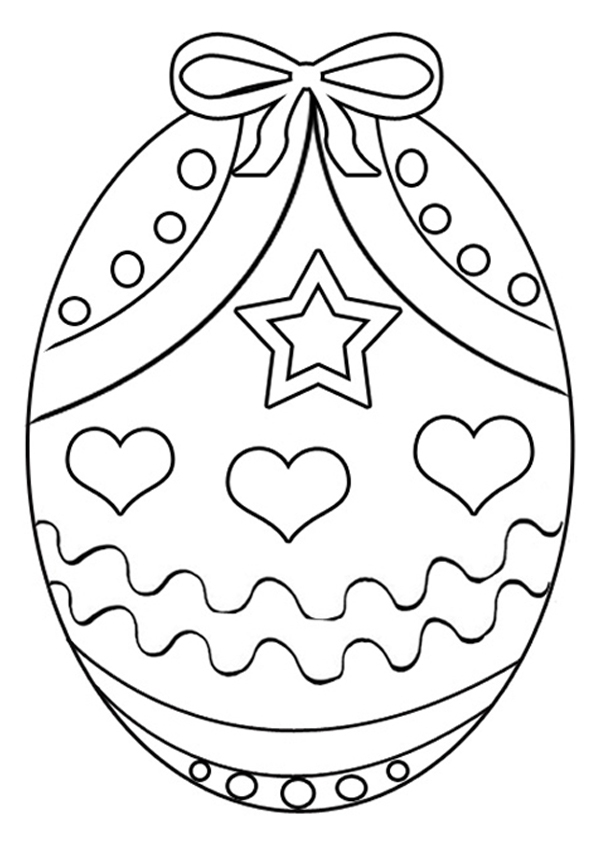 free easter egg coloring pages - easter egg coloring pages