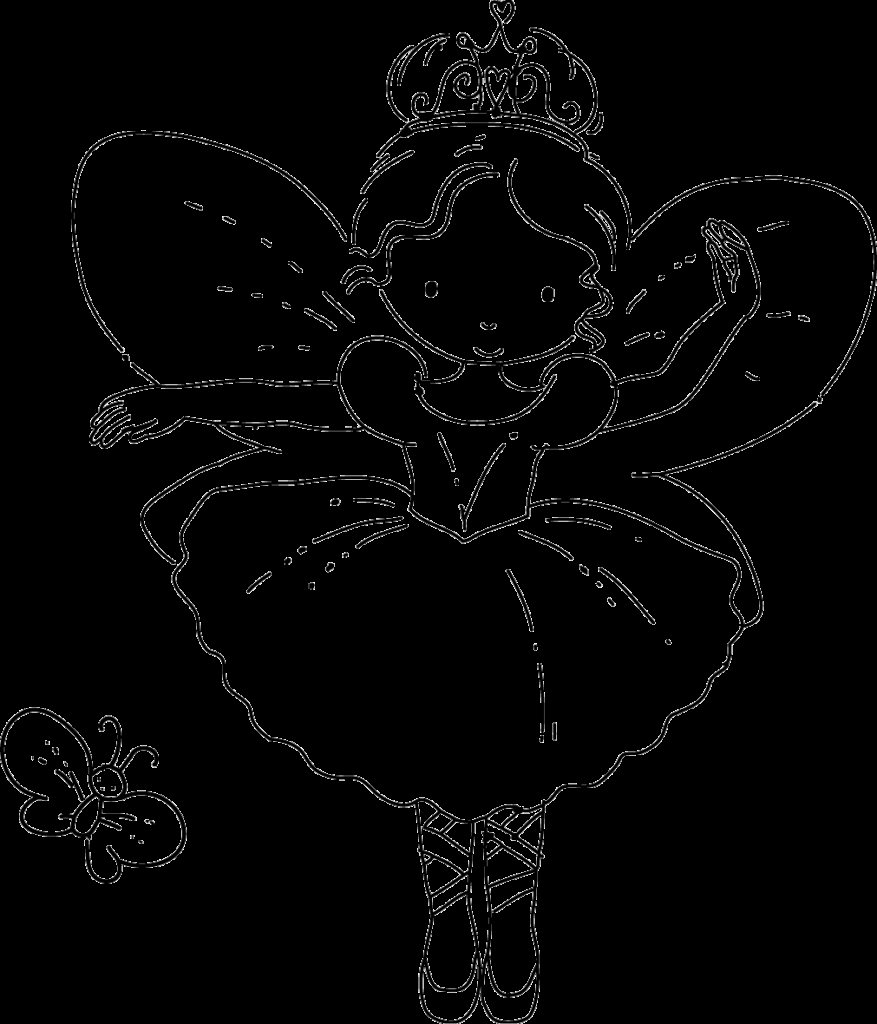 free fairy coloring pages - here are three coloring pages of