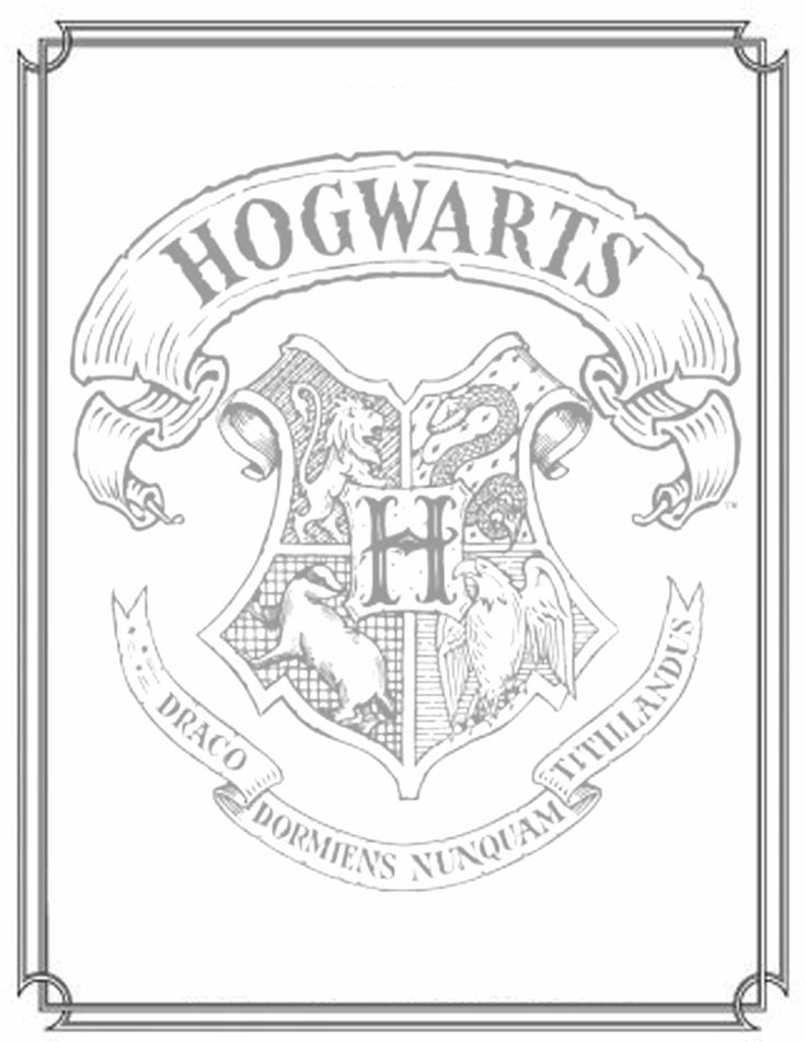 Free Harry Potter Coloring Pages - 24 Free Harry Potter Coloring Pages Medium Quality