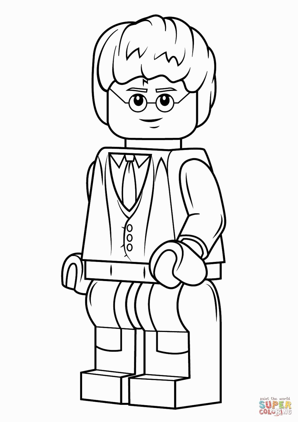 free harry potter coloring pages - lego harry potter coloring pages