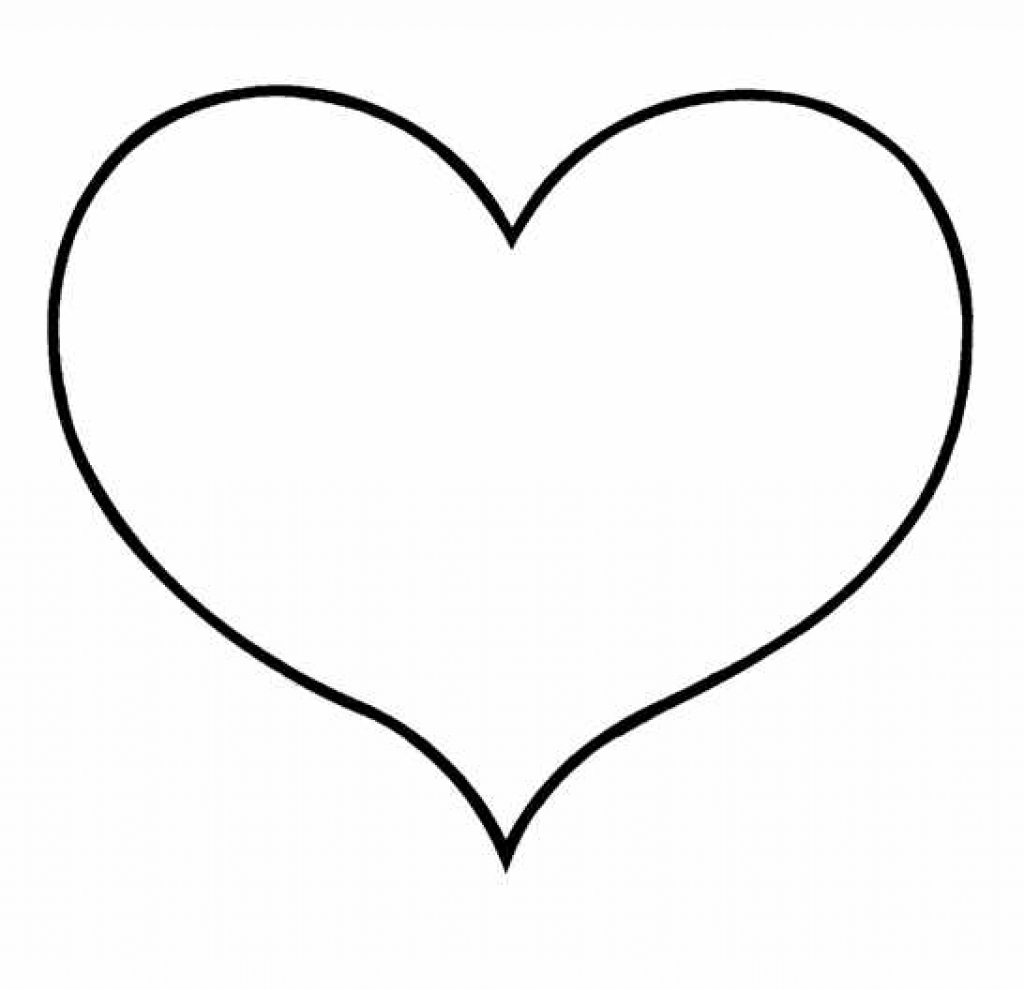 free heart coloring pages - free heart colouring pages