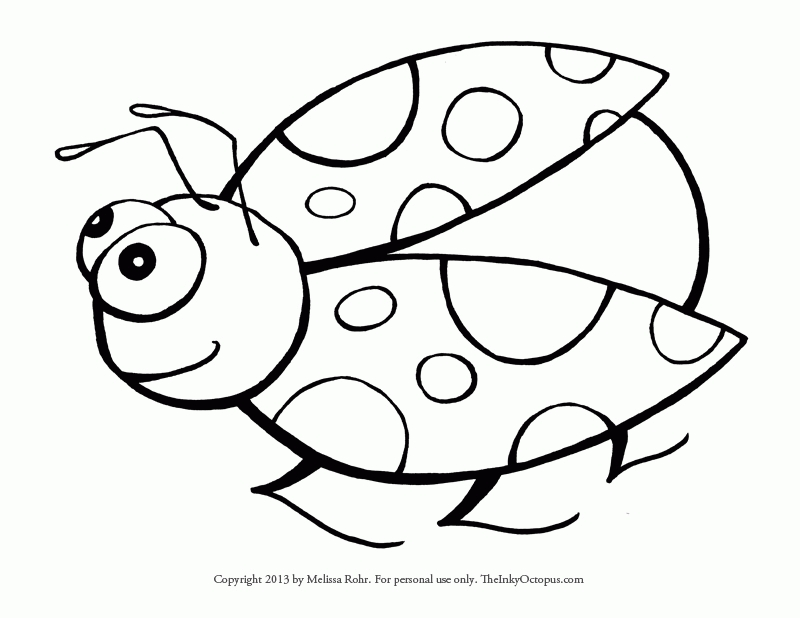 free lego coloring pages - ladybug color pages