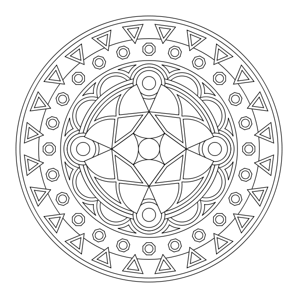 free mandala coloring pages - Free Mandala Coloring Pages Wallpaper Small Medium and Size